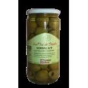 Zelené olivy Gordal bez pecky