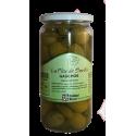 Zelené olivy Gordal s okurčičkou