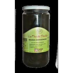 Černé olivy Cacereña bez pecky 720 g