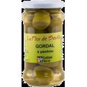 Zelené olivy Gordal s peckou 340 g