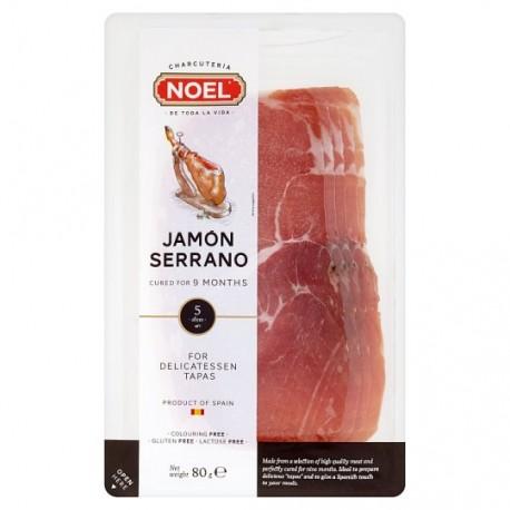Jamón Serrano krájený 80 g