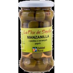 Manzanilla s paprikovou pastou