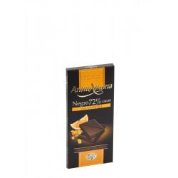 Hořká čokoláda s pomerančem
